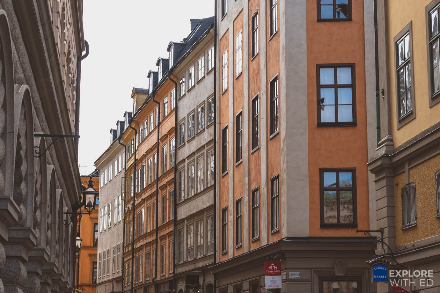 Characterful streets of Gamla Stan, Stockholm