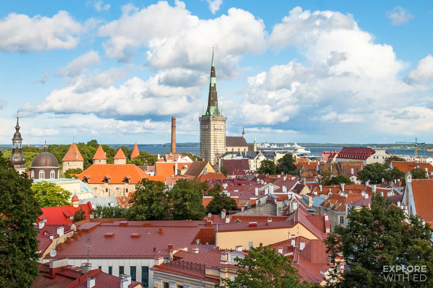 The Kohtuotsa viewing platform is one of the most magical places in Tallinn for photography lovers