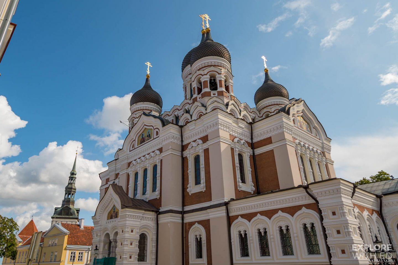 The Alexander Nevsky Cathedral, Tallinn