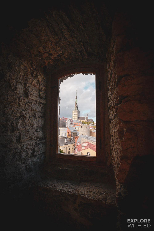 Enchanting views of Tallinn from the Hellemann Tower