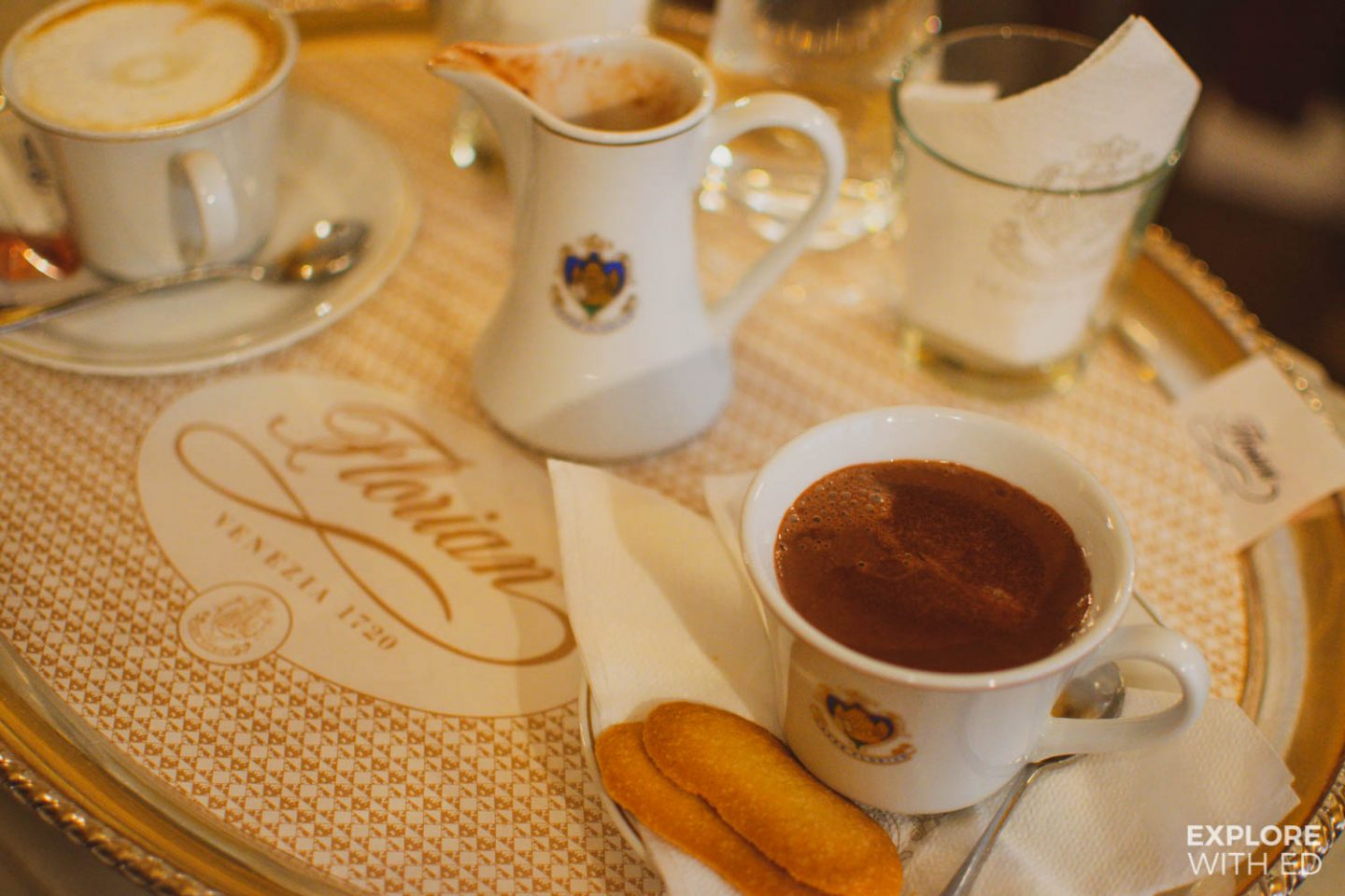 The best places for hot chocolate in Venice, Italy