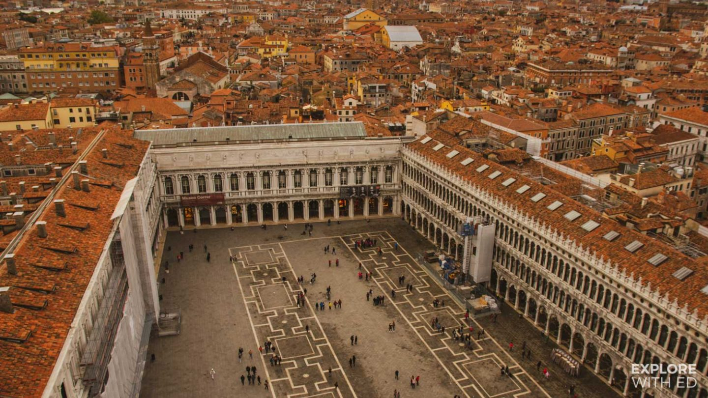 Overlooking St Mark's Square, Venice