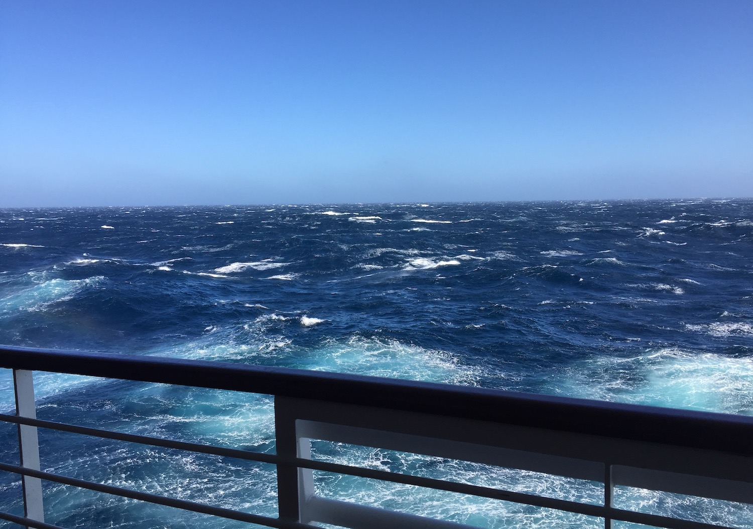 Cruising through Bay of Biscay / North Atlantic Ocean in March on an Iberian Cruise