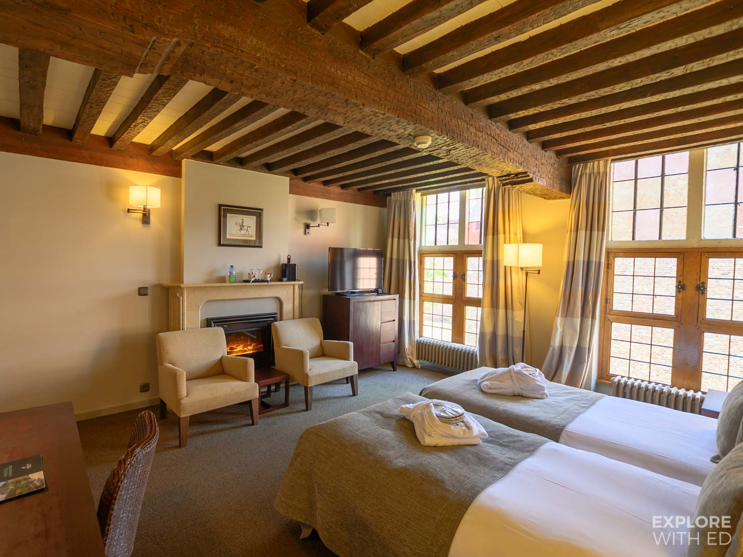 Martin's Klooster boutique hotel in Leuven