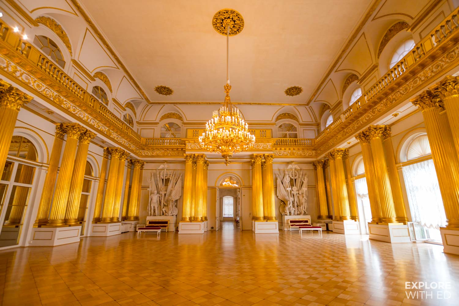 Tour of The Winter Palace St Petersburg