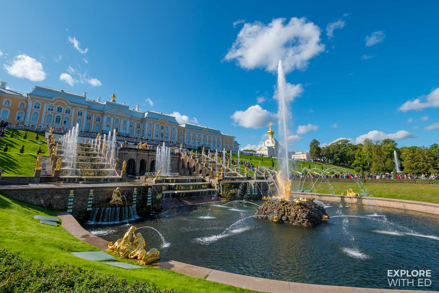 Peterhof Palace and Gardens, St Petersburg