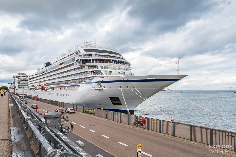 #Ad Viking Cruises Jupiter ship docked in Copenhagen
