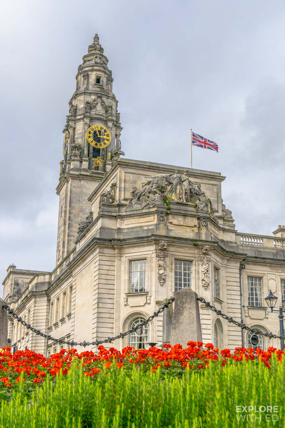 Cardiff Council, Museum buildings and Clock Tower