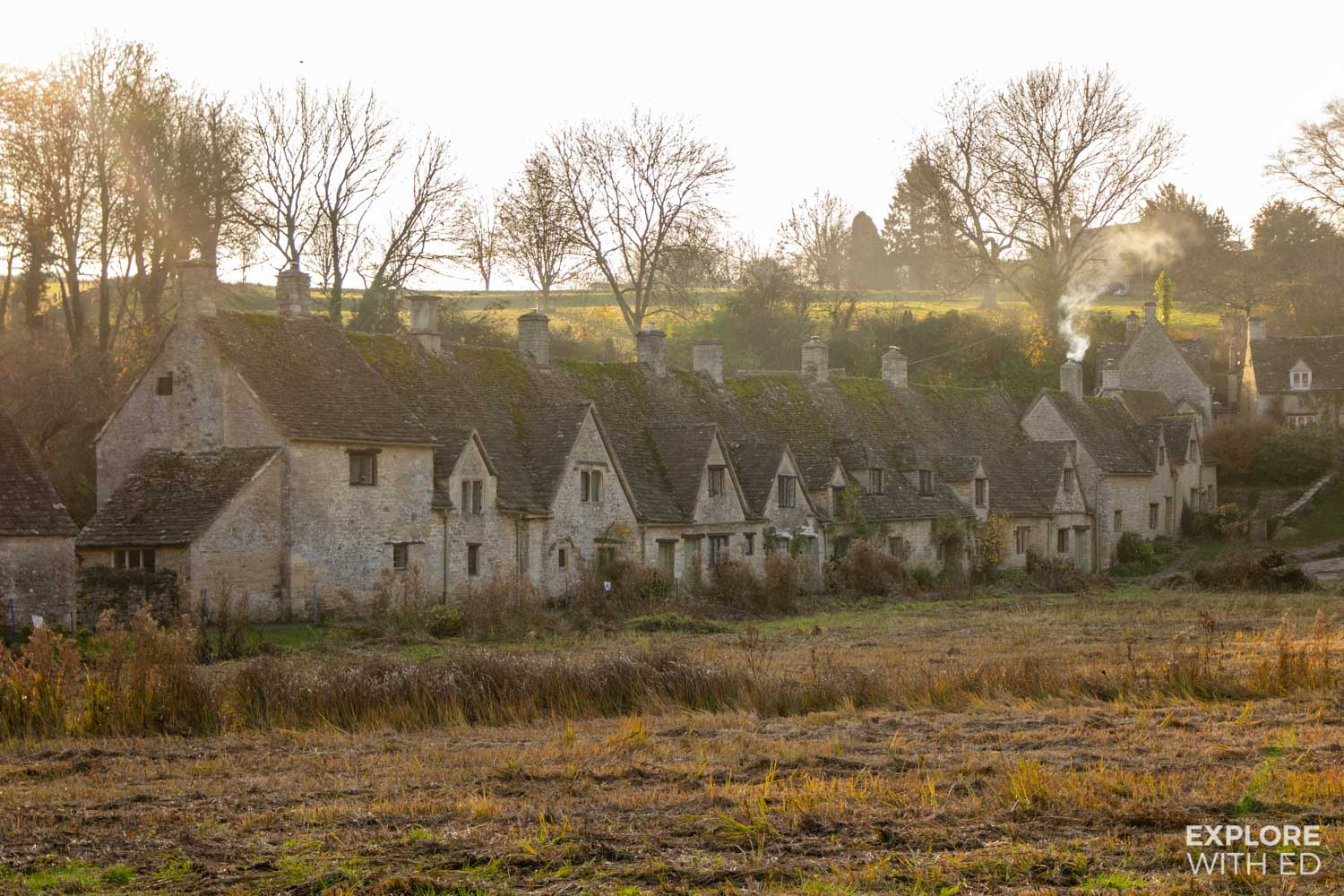 Arlington Row, Bibury is one of the top places to visit in The Cotswolds