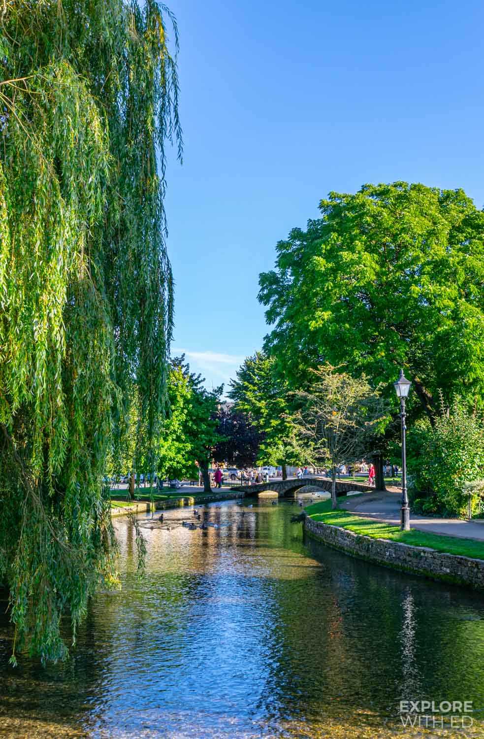 Bourton-on-the-Water is the Venice of The Cotswolds