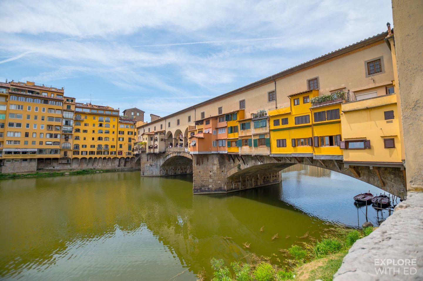 The Famous Bridge in Florence