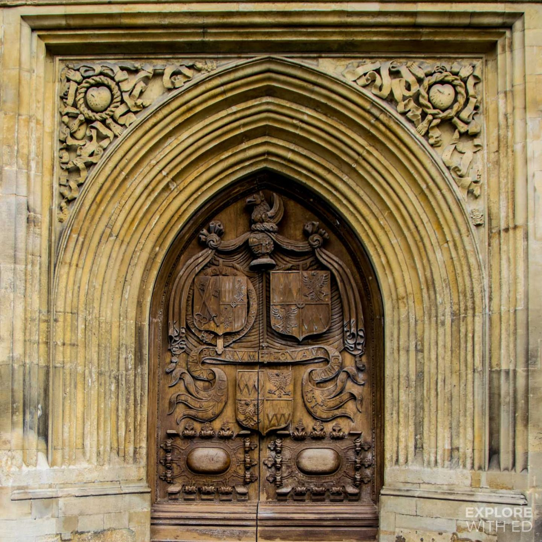 Bath Abbey door