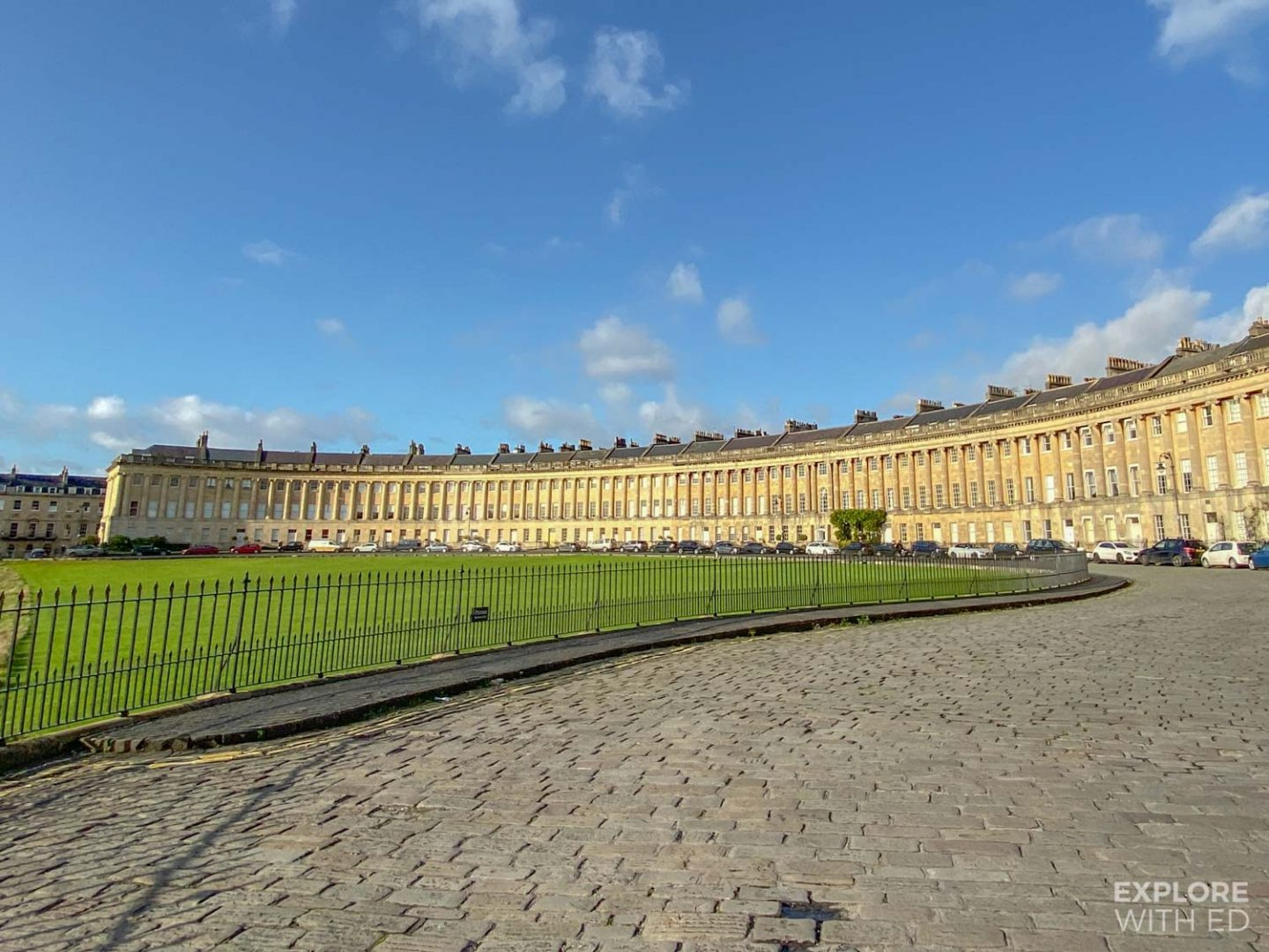 Royal Crescent is one of my top photo spots in Bath