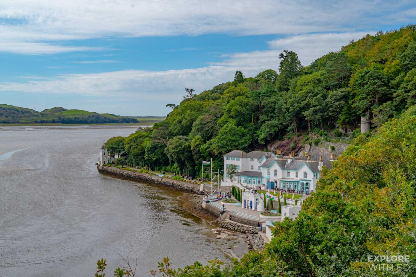 The Portmeirion Hotel and Terrace
