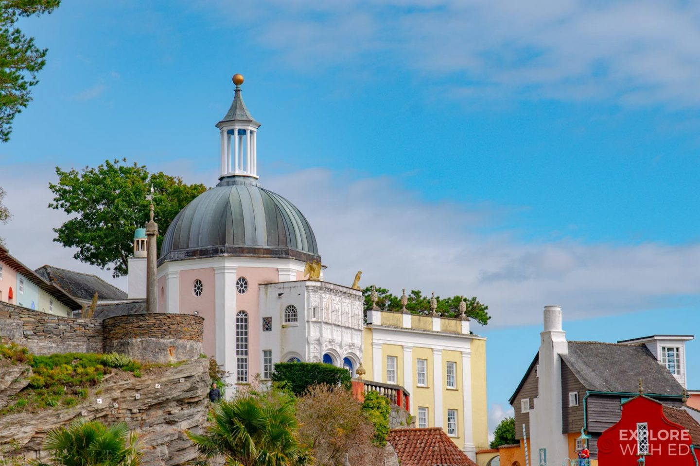 Portmeirion Village Italian Architecture