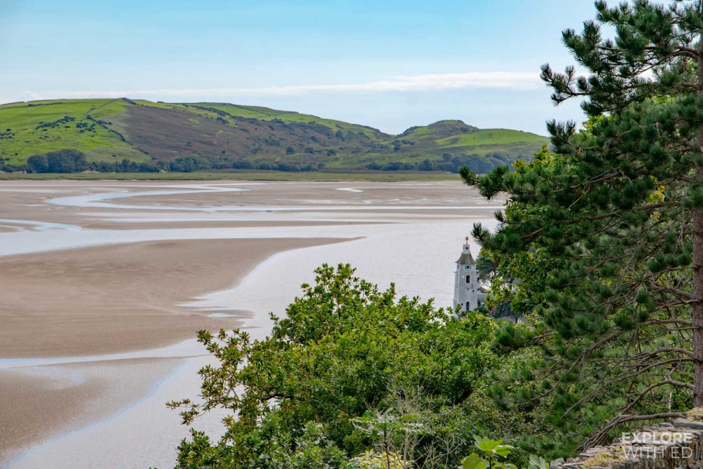 Portmeirion Estuary and Lighthouse